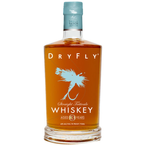 Dry Fly Straight Triticale Whiskey 750ml