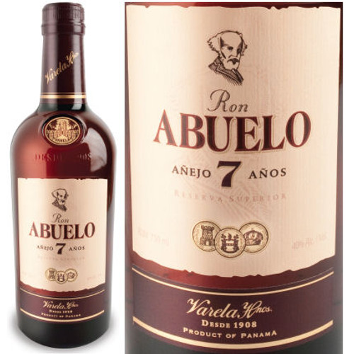 Ron Abuelo 7 Year Old Anejo Rum 750ml