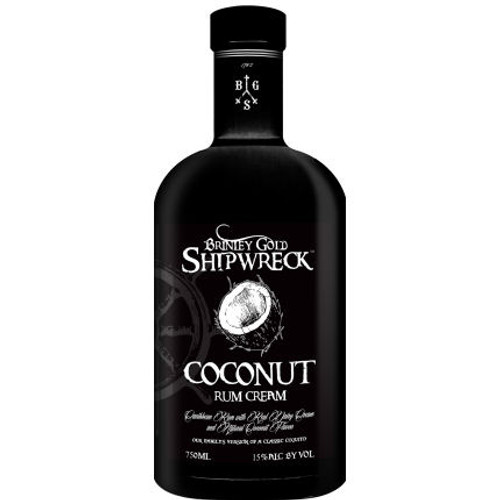 Brinley Gold Shipwreck Coconut Rum Cream 750ml