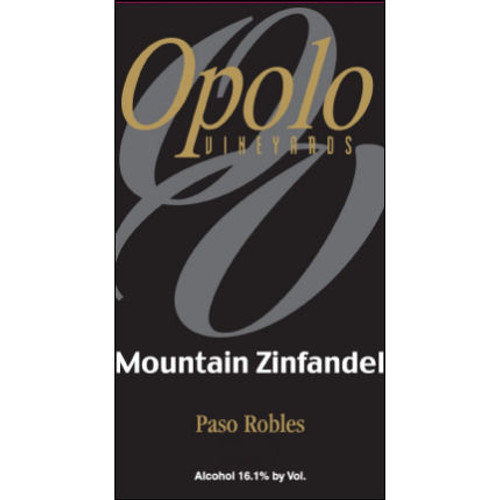 Opolo Mountain Zinfandel