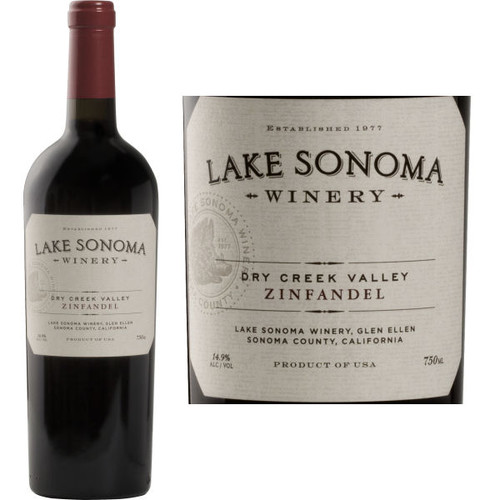 Lake Sonoma Dry Creek Zinfandel
