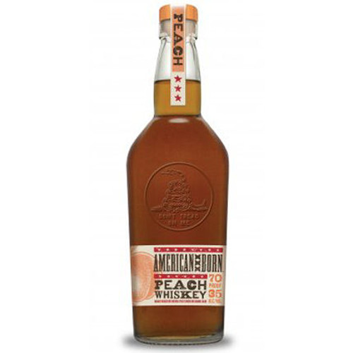 American Born Peach Whiskey 750ml