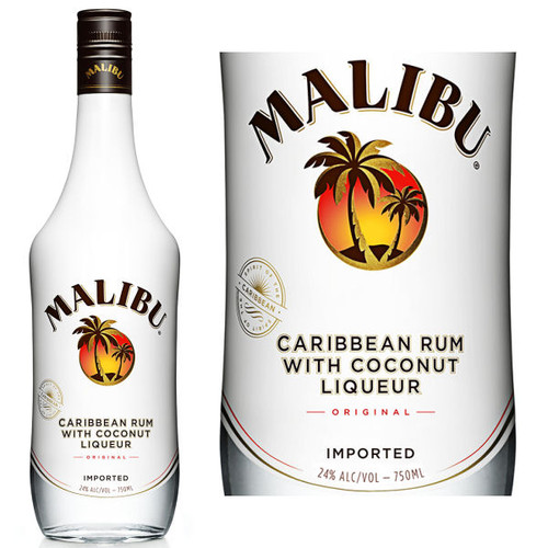 Malibu Original Caribbean Rum With Coconut Liqueur 750ml