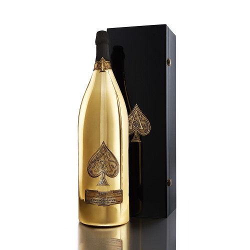 Armand de Brignac Brut Gold Champagne NV 15L Rated 94W&S