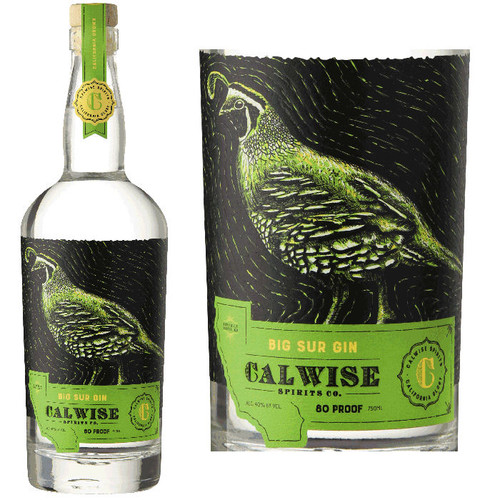 Calwise Big Sur California Gin 750ml