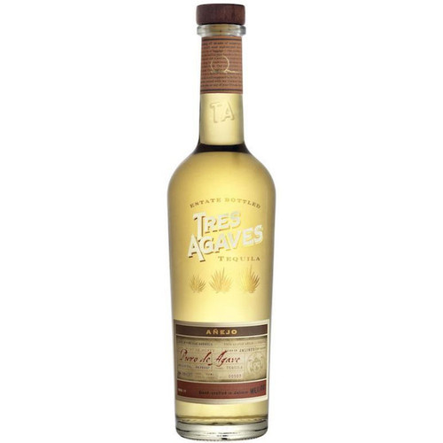Tres Agave Anejo Tequila 750ml