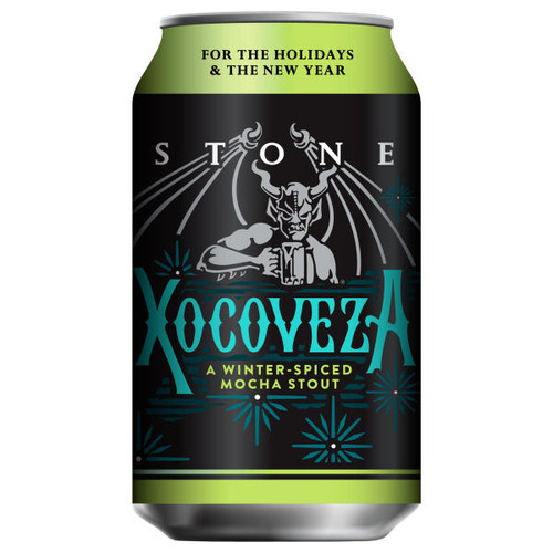 Stone Brewing Xocoveza Mocha Stout 2017 12oz 6 Pack Bottles