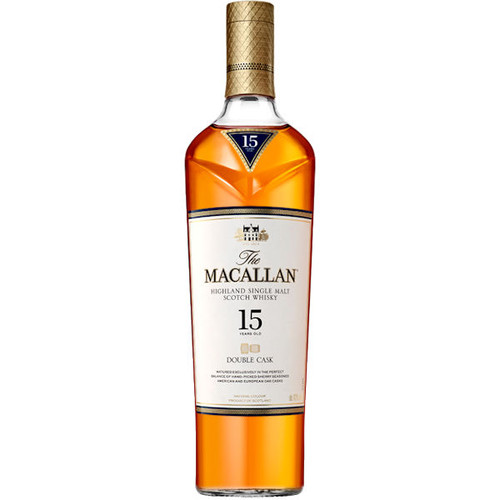 The Macallan 15 Year Old Double Cask Matured 750ml