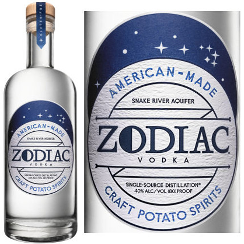 Zodiac Original Potato Vodka 750ml