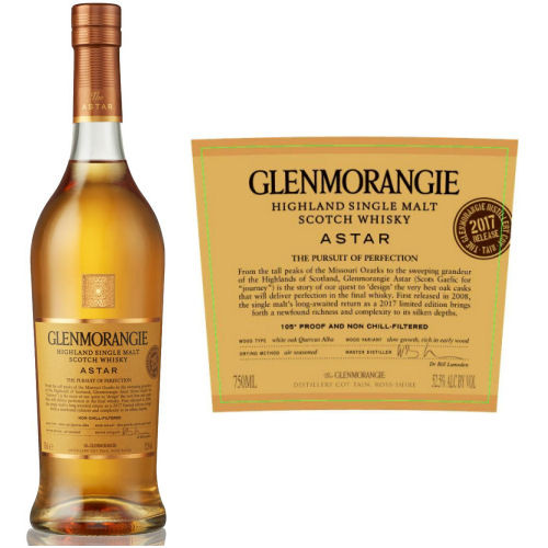 Glenmorangie Astar Highland Single Malt Scotch 750ml
