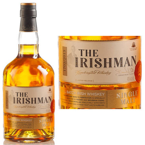 The Irishman Single Malt Irish Whiskey 750ml