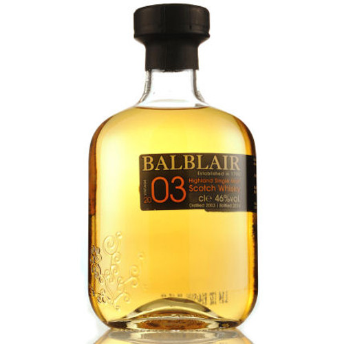 Balblair 2003 Highland Single Malt Scotch 750ml