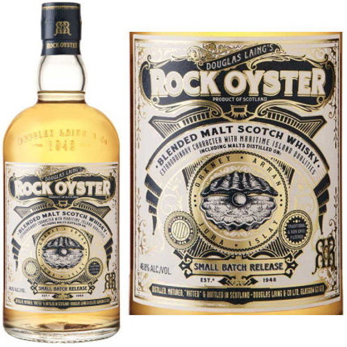 Douglas Laing's Rock Oyster Island Blended Malt Scotch Whisky 750ml