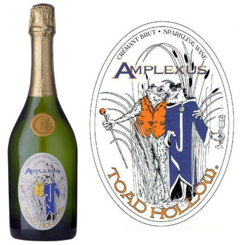 Toad Hollow Amplexus Cremant Brut Sparkling Wine Limoux-Languedoc NV