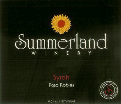 Summerland Paso Robles Syrah
