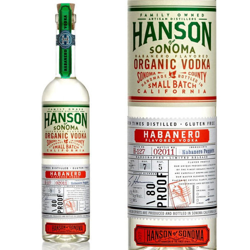 Hanson of Sonoma Habanero Organic Vodka 750ml