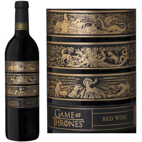 Game of Thrones Paso Robles Red Wine