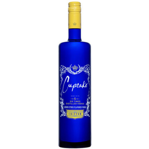 Cupcake Lemon Chiffon Flavored Vodka 750ml