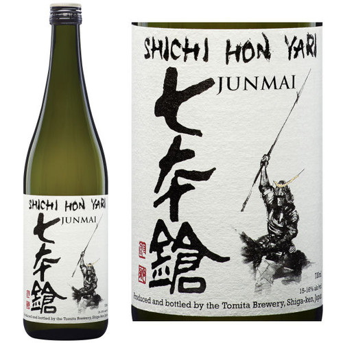 Shichi Hon Yari The Seven Spearsmen Junmai Sake 720ML