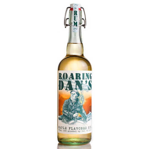 Great Lakes Distillery Roaring Dan's Maple Rum 750ml