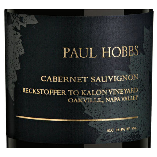 Paul Hobbs Beckstoffer To Kalon Vineyard Cabernet
