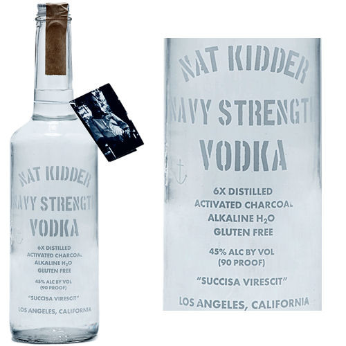 Nat Kidder Navy Strength Vodka 750ml