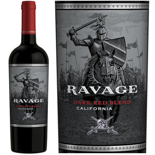 Ravage California Dark Red Blend