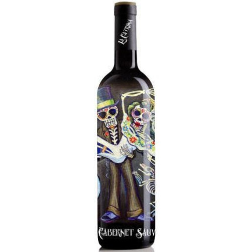 La Catrina Day of the Dead Bride and Groom California Cabernet