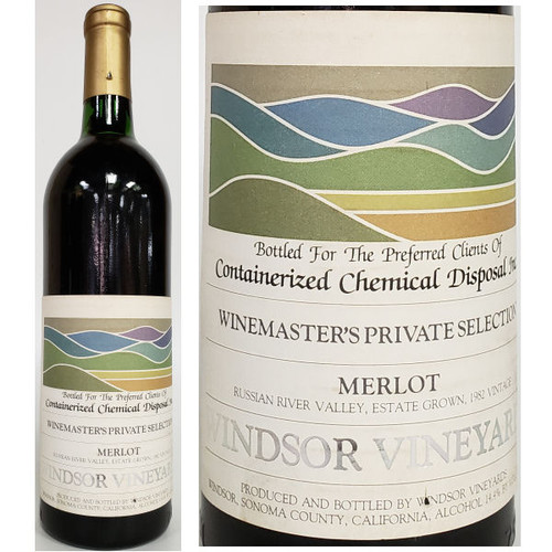 Windsor Winemaster's Private Selection Russian River Merlot