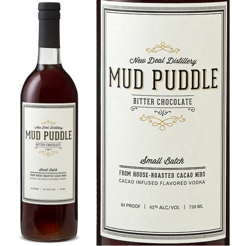 Mud Puddle Bitter Chocolate Vodka 750ml