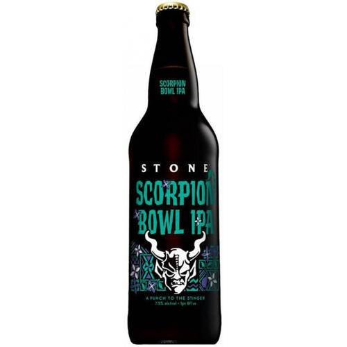 Stone Brewing Scorpion Bowl IPA 22oz