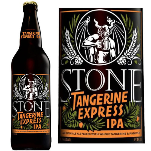 Stone Brewing Tangerine Express IPA 22oz