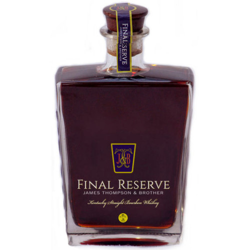 James Thompson & Brother Final Reserve 45 Year Old Kentucky Straight Bourbon Whiskey 750ml