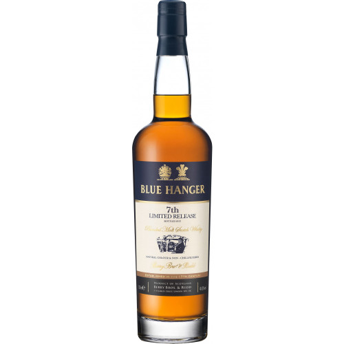 Blue Hanger 7th Limited Release Blended Malt Scotch 750ml