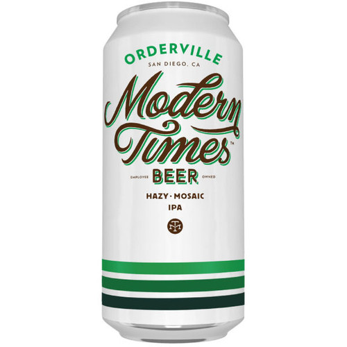Modern Times Orderville Hazy IPA 16oz 4 Pack