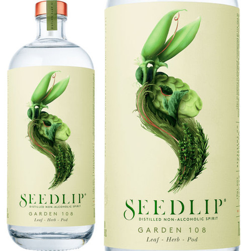 Seedlip Garden 108 Distilled Non-Alcoholic Spirits 700ml