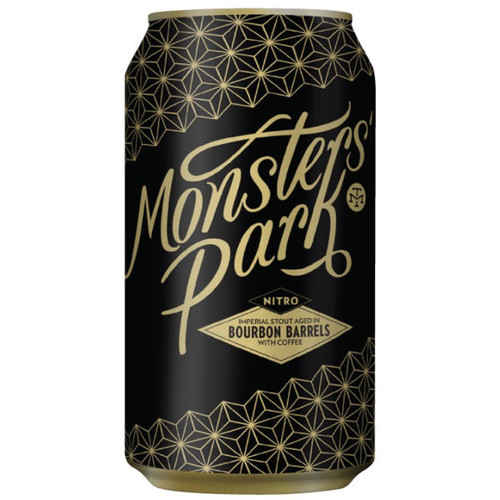 Modern Times Monsters' Park Nitro Bourbon Barrel Aged Imperial Stout with Coffee 12oz Single Can