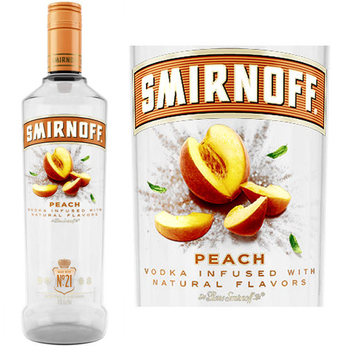 Smirnoff Peach Vodka 750ml