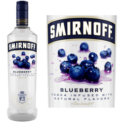 Smirnoff Blueberry Vodka 750ml