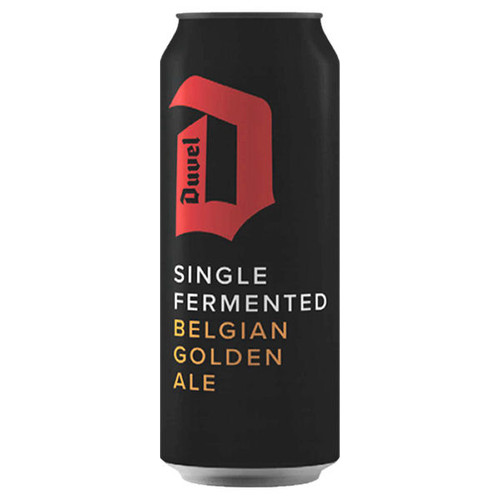 Duvel Belgian Single Fermented Golden Ale 4 Pack 500ml Cans