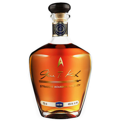 James T. Kirk Straight Bourbon Whiskey 750ml