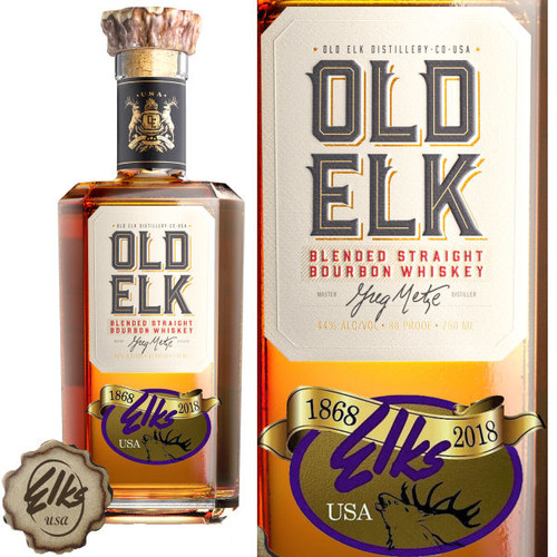 Old Elk & Elks Lodge 150th Anniversary Bourbon Whiskey 750ml