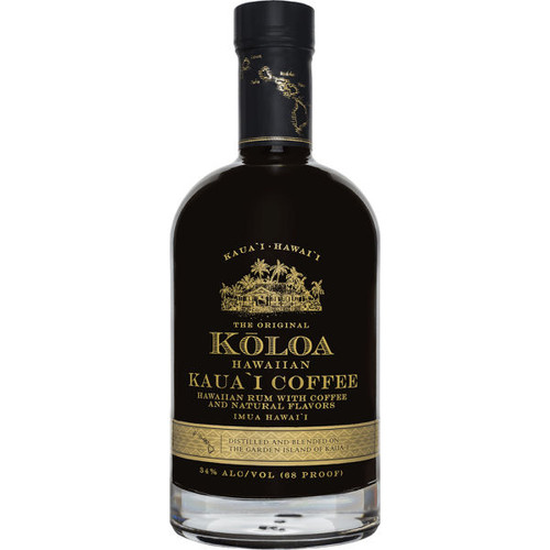 Koloa Hawaiian Kauai Coffee Rum 750ml