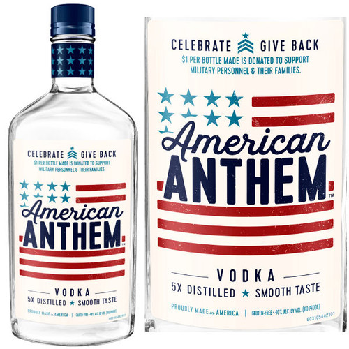 American Anthem Vodka 750ml