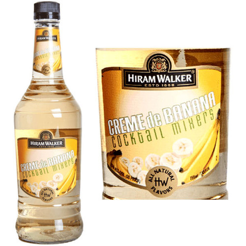 Hiram Walker Creme de Banana US 1L