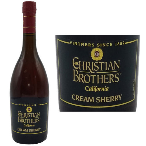Christian Brothers California Cream Sherry 750ml
