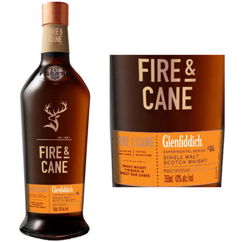 Glenfiddich Experimental Series #04 Fire & Cane Speyside Single Malt Scotch 750ml