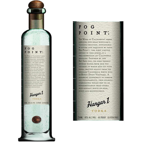 Hangar 1 Fog Point Vodka US 750ml