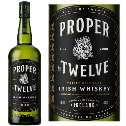 Proper No. Twelve Triple Distilled Irish Whiskey 750ml
