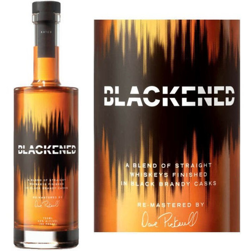 Blackened by Metallica Batch 099 American Whiskey 750ml